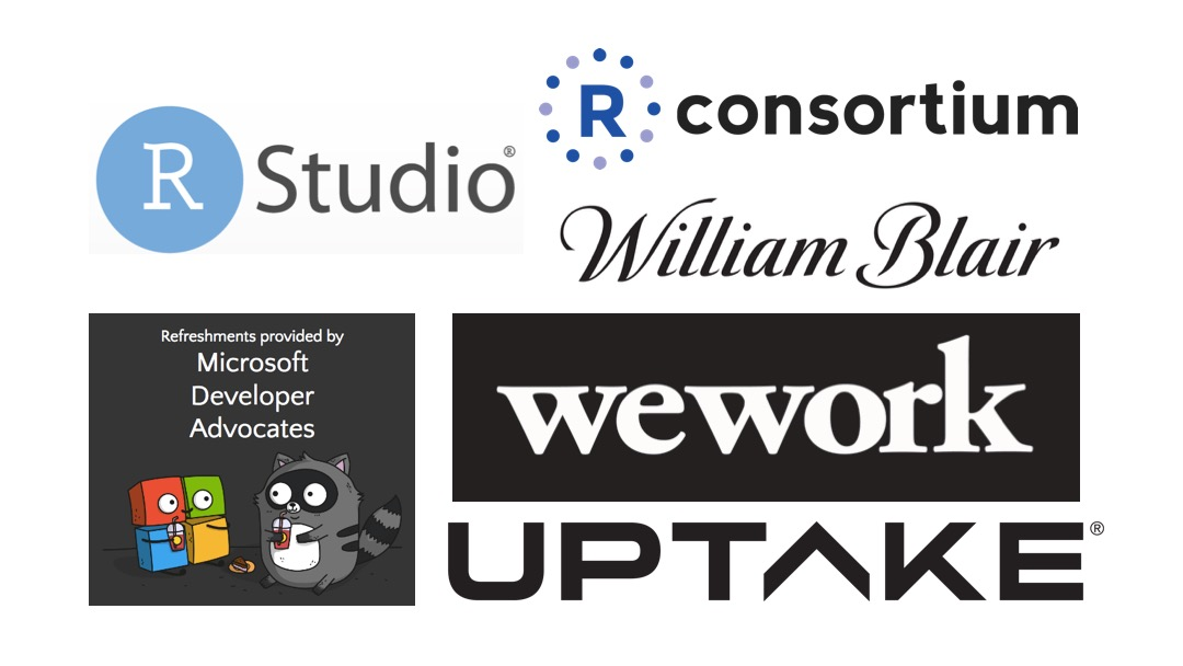 We are grateful to our sponsors for their essential contributions to R-Ladies Chicago